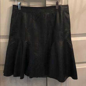 Black leather skirt - Nordstrom size 8P